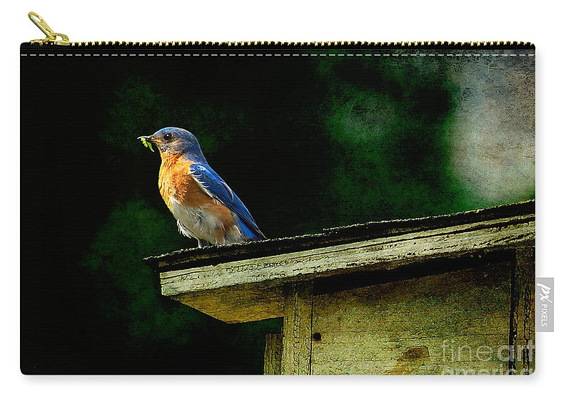 Lois Bryan Carry-all Pouch featuring the photograph Proud Provider by Lois Bryan