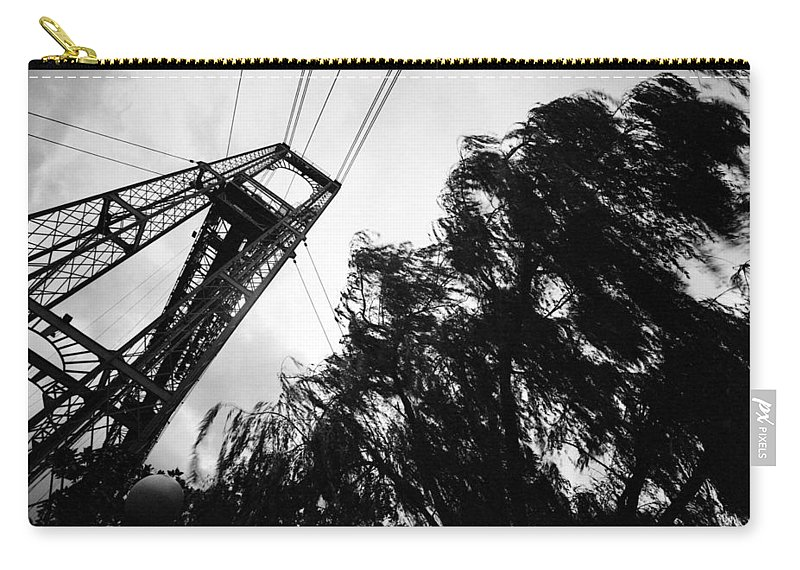 Basque Carry-all Pouch featuring the photograph Puente Colgante Iv by Rafa Rivas