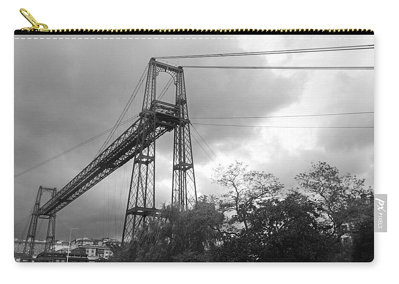 Basque Carry-all Pouch featuring the photograph Puente Colgante by Rafa Rivas