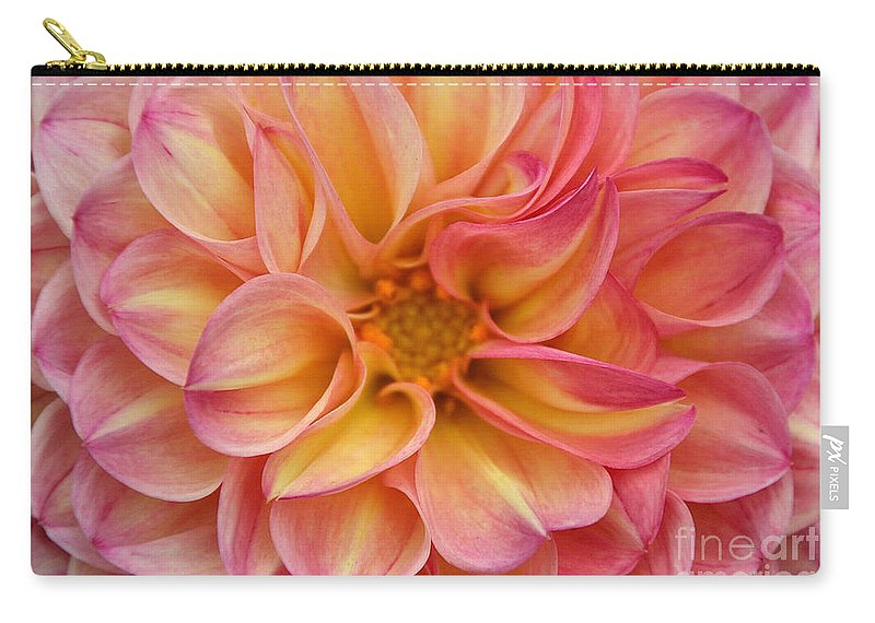 Flower Carry-all Pouch featuring the photograph Pure Pastels by Susan Herber