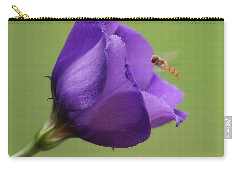 Purple Carry-all Pouch featuring the photograph Purple 4 by Carol Lynch