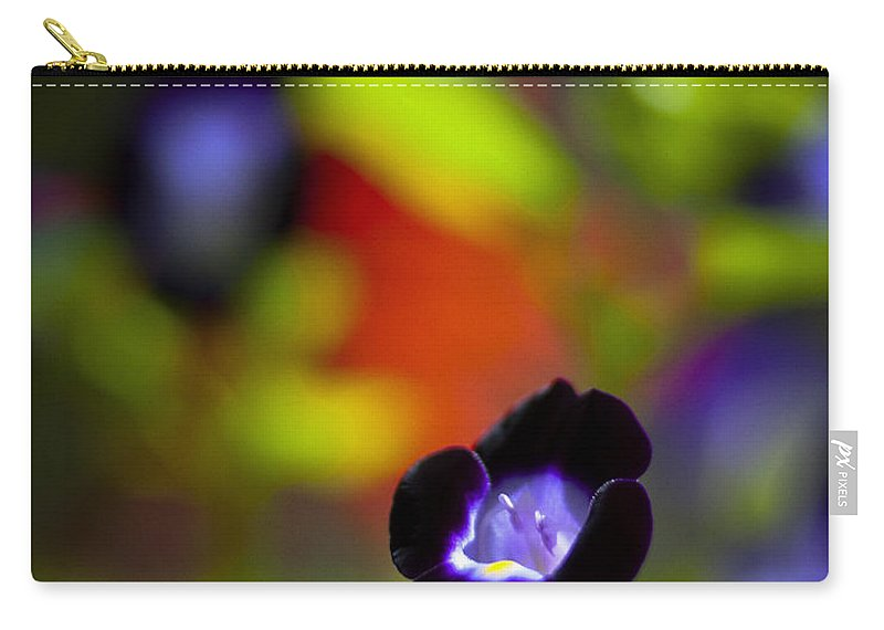 Flowers Carry-all Pouch featuring the photograph Purple Flower by Bradley R Youngberg