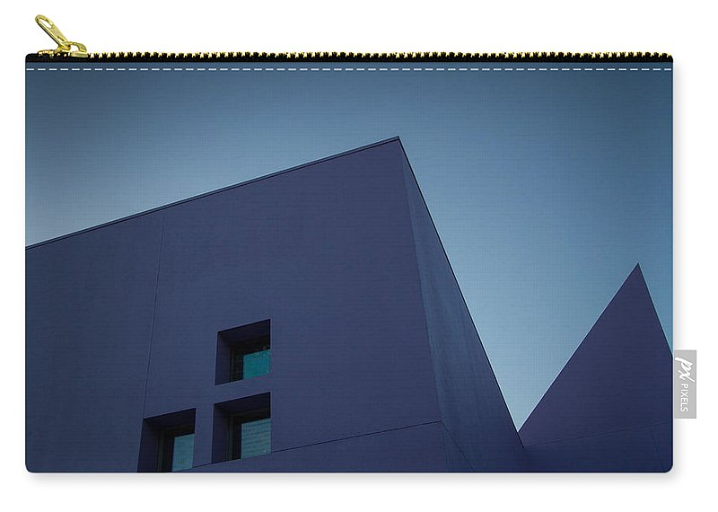 San Jose Carry-all Pouch featuring the photograph Purple Pyramids by Dayne Reast
