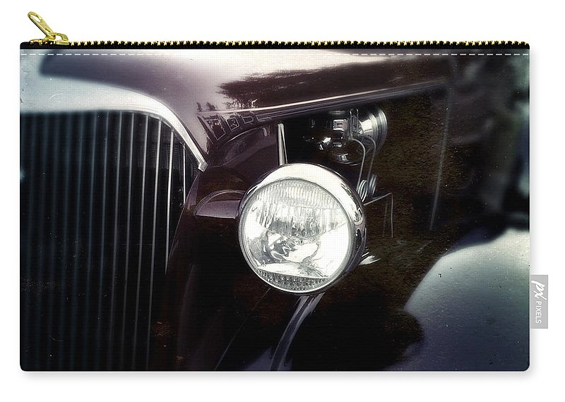 Classic Carry-all Pouch featuring the photograph Purple Ride by Tim Nyberg