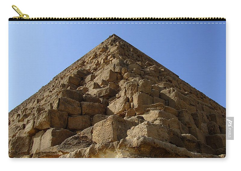 Pyramids Carry-all Pouch featuring the photograph Pyramids Of Giza 20 by Antony McAulay