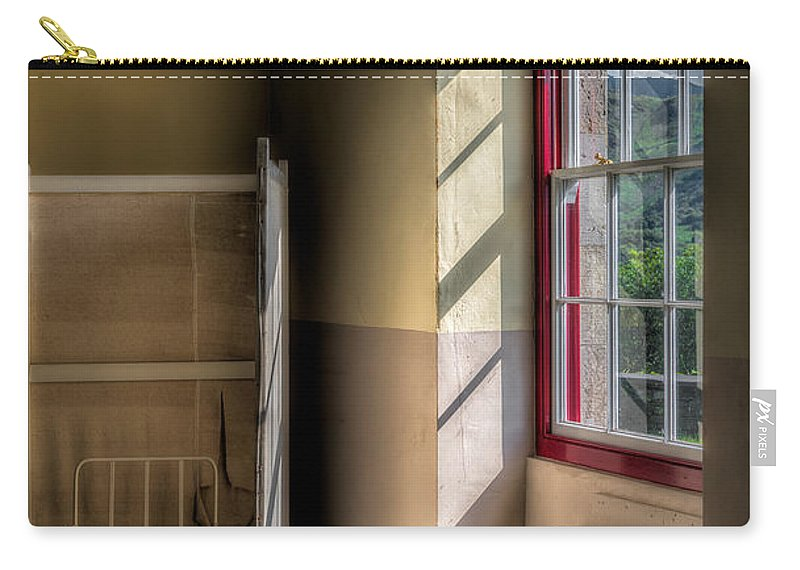 Hdr Carry-all Pouch featuring the photograph Quarry Hospital by Adrian Evans