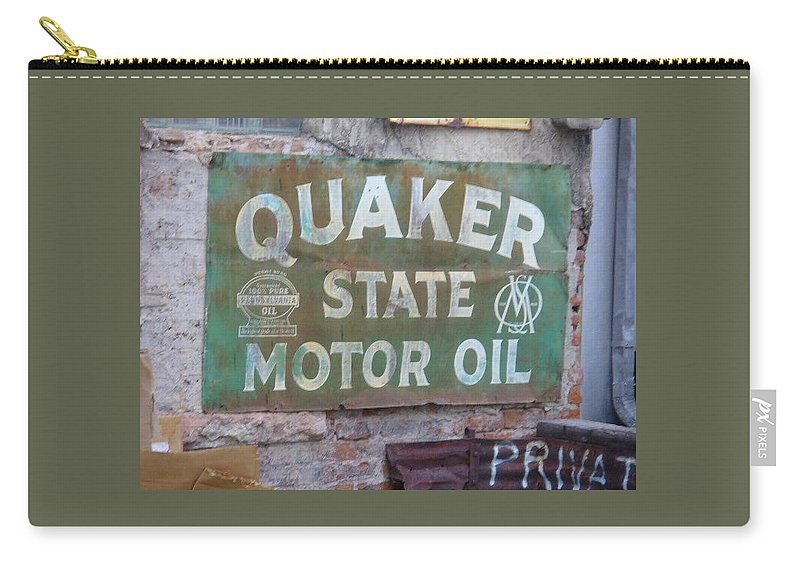 Lyle Carry-all Pouch featuring the painting Quater State Oil by Lord Frederick Lyle Morris - Disabled Veteran