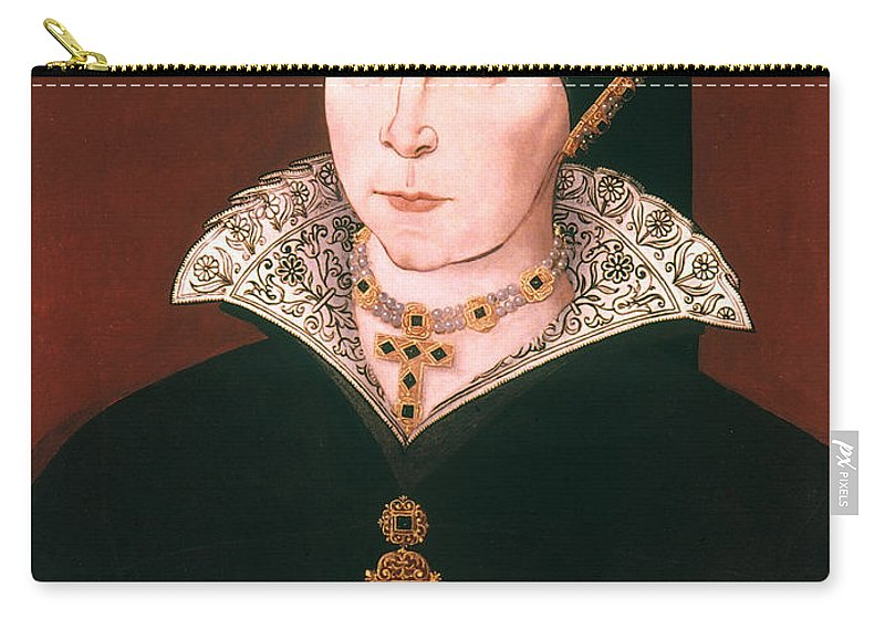 16th Century Carry-all Pouch featuring the painting Queen Mary I Of England by Granger