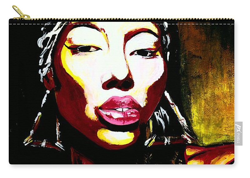 Queen Carry-all Pouch featuring the photograph Queen Of Kings by Artist RiA