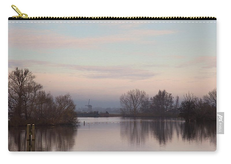 Nature Carry-all Pouch featuring the photograph Quiet Morning by Annie Snel