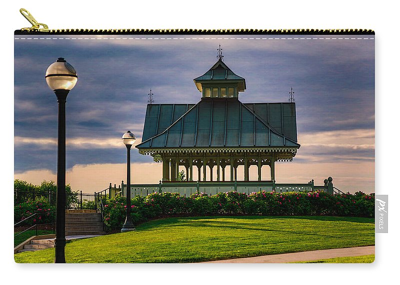 Sit Carry-all Pouch featuring the photograph Quiet Retreat by Eti Reid