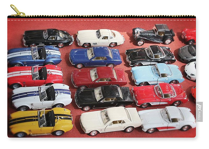 Racing Cars Carry-all Pouch featuring the photograph Race Cars by Carlos Diaz