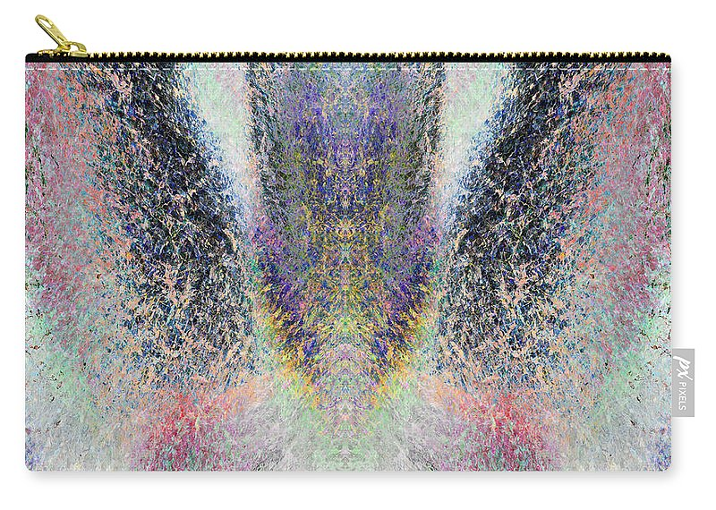 Radiant Carry-all Pouch featuring the painting Radiant Seraphim by Christopher Gaston