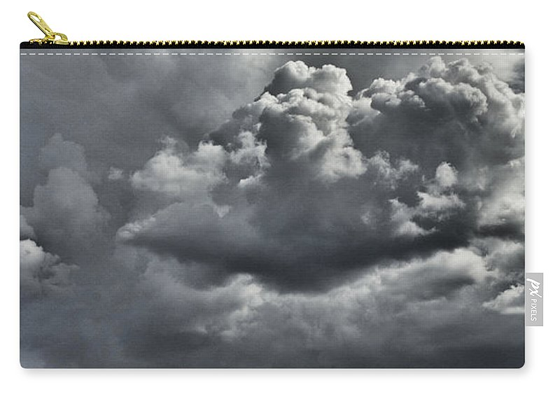 Rainclouds Carry-all Pouch featuring the photograph Rain In The Distance by Douglas Barnard