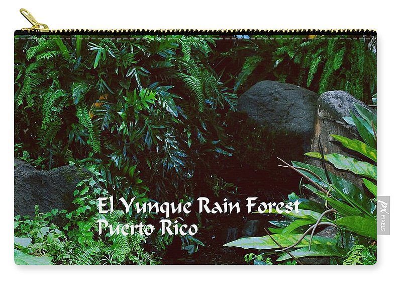 El Yunque Carry-all Pouch featuring the photograph Rainforest by Gary Wonning