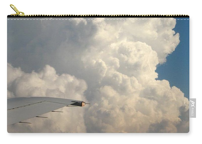 Weather Carry-all Pouch featuring the photograph Rainmaker by Ann Horn