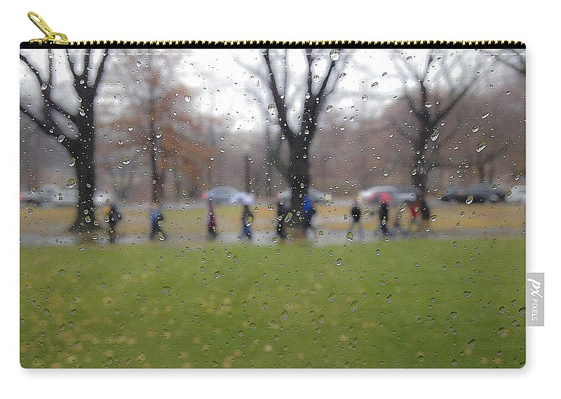 Rain Carry-all Pouch featuring the photograph Rainy Day Mfa by David Stone