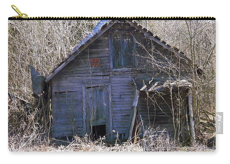 Old Carry-all Pouch featuring the photograph Ramshackled by Nick Kirby