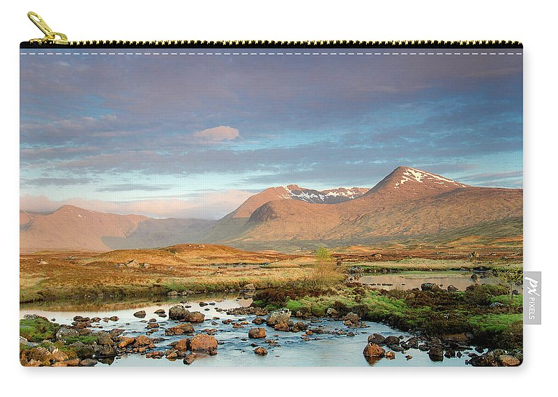 Scenics Carry-all Pouch featuring the photograph Rannoch Moor by Mike Dow Photography