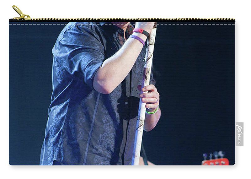 Rascal Flatts Carry-all Pouch featuring the photograph Rascal Flatts 5044 by Timothy Bischoff
