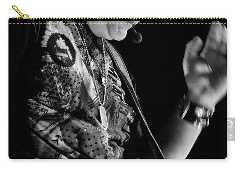 Rascal Flatts Carry-all Pouch featuring the photograph Rascal Flatts 5136 by Timothy Bischoff