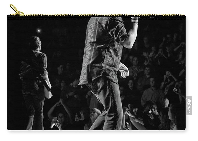 Rascal Flatts Carry-all Pouch featuring the photograph Rascal Flatts 5140 by Timothy Bischoff