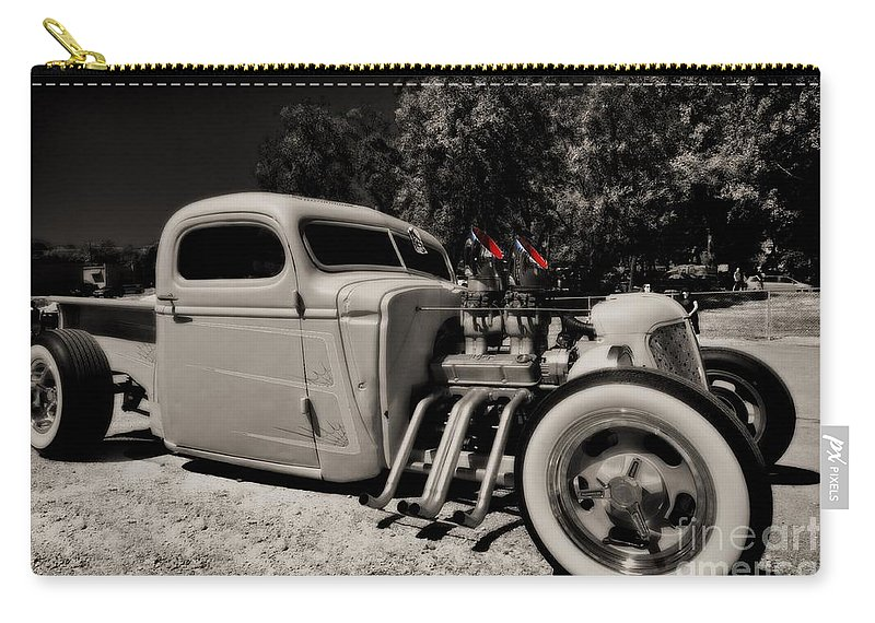 Liane Wright Carry-all Pouch featuring the photograph Rat Rod by Liane Wright