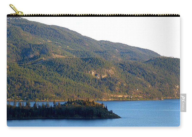 Rattlesnake Point Carry-all Pouch featuring the photograph Rattlesnake Point by Will Borden