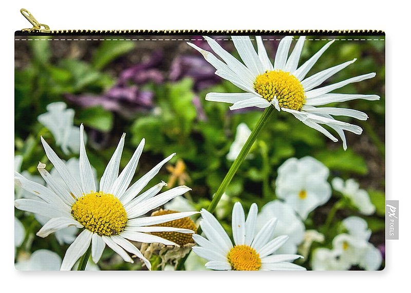 Flowers Carry-all Pouch featuring the photograph Reach For The Sky by Ken Kobe
