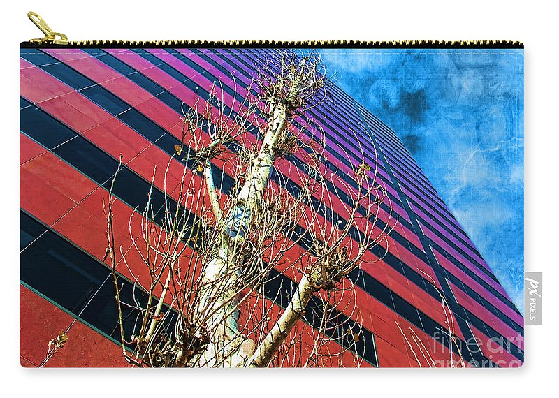 Reach For The Sky Carry-all Pouch featuring the photograph Reach For The Sky by Mariola Bitner