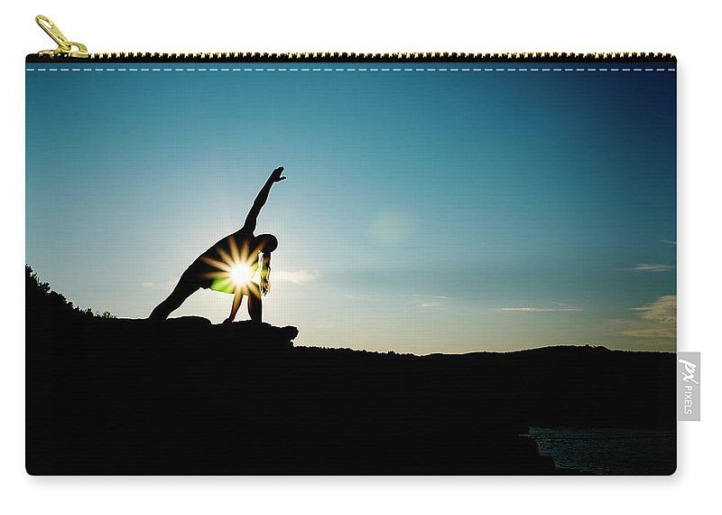 Funky Carry-all Pouch featuring the photograph Reach For The Sky by Subman