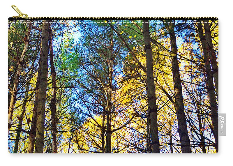 Sky Carry-all Pouch featuring the photograph Reaching For The Sky by Gary Richards
