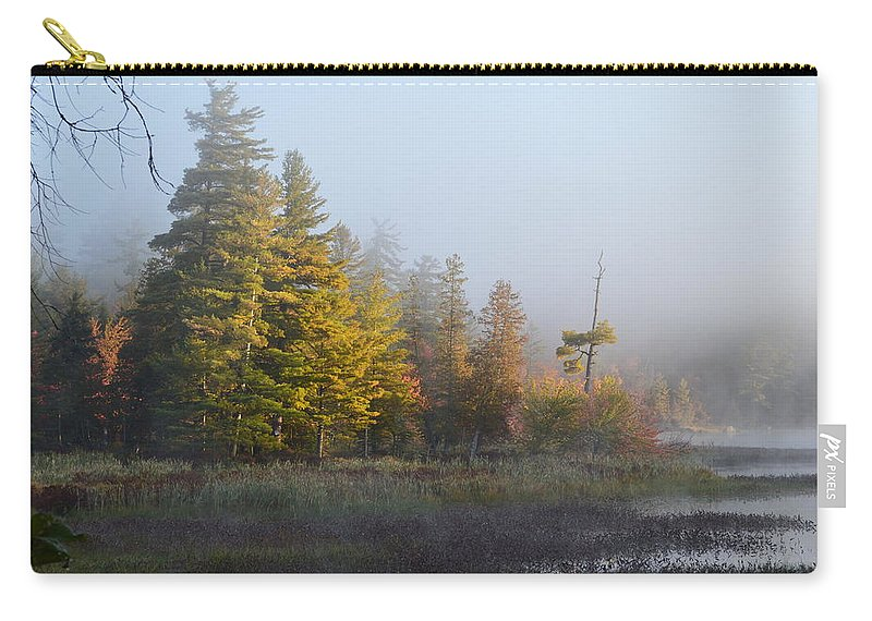 Adirondack Mountains Carry-all Pouch featuring the photograph Reaching For The Sun by Thomas Phillips