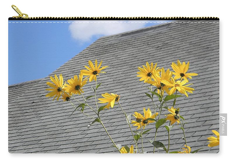 Maine Carry-all Pouch featuring the photograph Reaching by Jean Goodwin Brooks