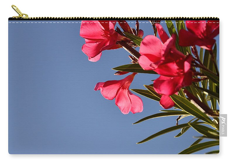 Seasons Carry-all Pouch featuring the photograph Reaching Out 30016 by Jerry Sodorff
