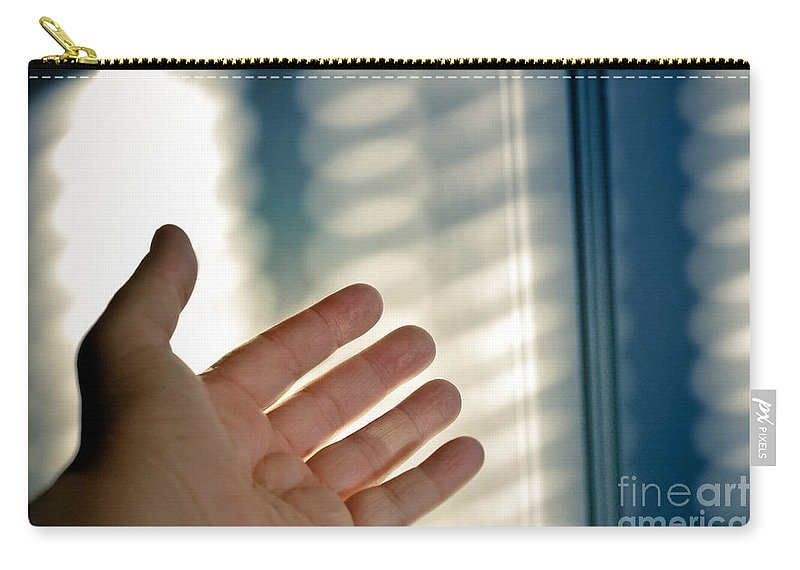 Abstract Carry-all Pouch featuring the photograph Reaching Out by Amy Cicconi