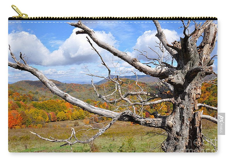 Tree Carry-all Pouch featuring the photograph Reaching Out by Christina McKinney