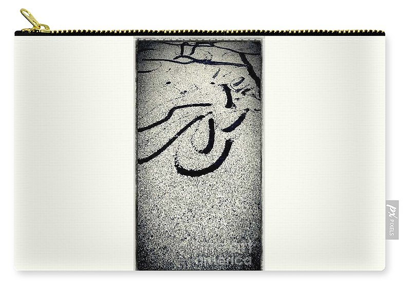Natural Theme Carry-all Pouch featuring the photograph Reaching Strokes by Fei A