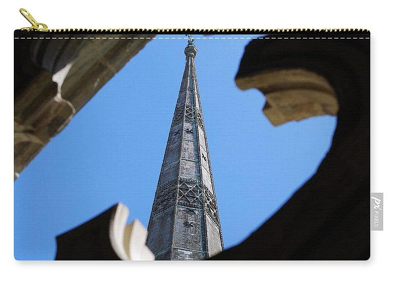 Salisbury Carry-all Pouch featuring the photograph Reaching Towards Heaven by Wendy Wilton