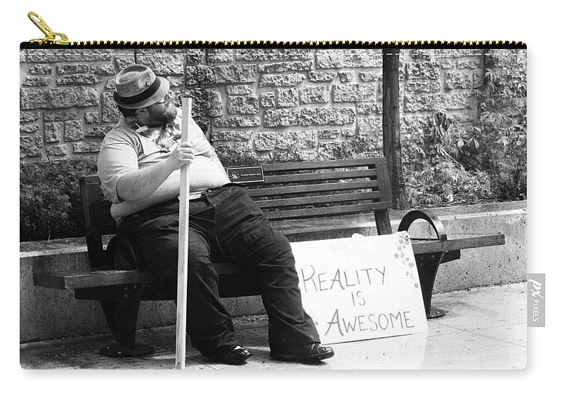 Pride Festival Carry-all Pouch featuring the photograph Reality Is Awesome by The Artist Project