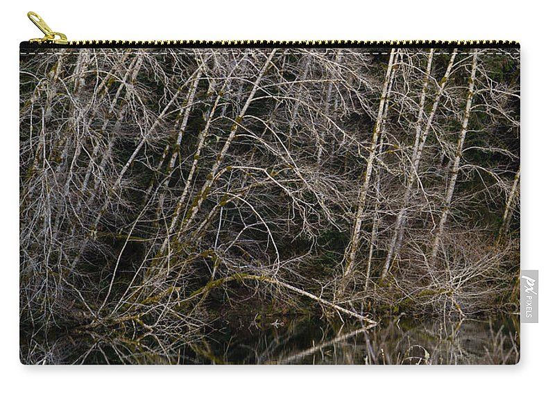 Forest Carry-all Pouch featuring the photograph Red Alders 4 by Tracy Knauer