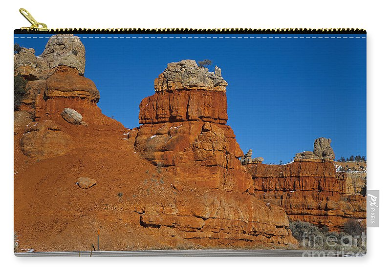 Dixie National Forest Carry-all Pouch featuring the photograph Red Canyon Dixie National Forest by Jason O Watson