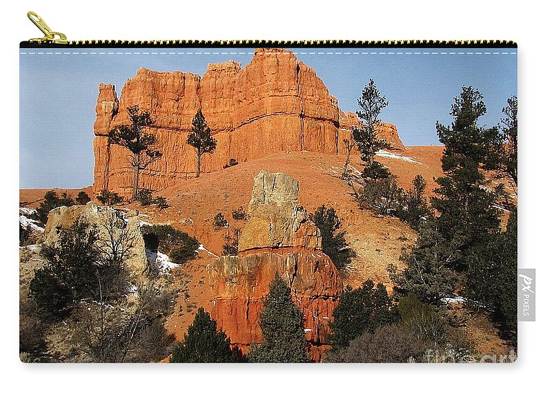 Utah Carry-all Pouch featuring the photograph Red Canyon - Scenic Byway 12 by Sheryl Young