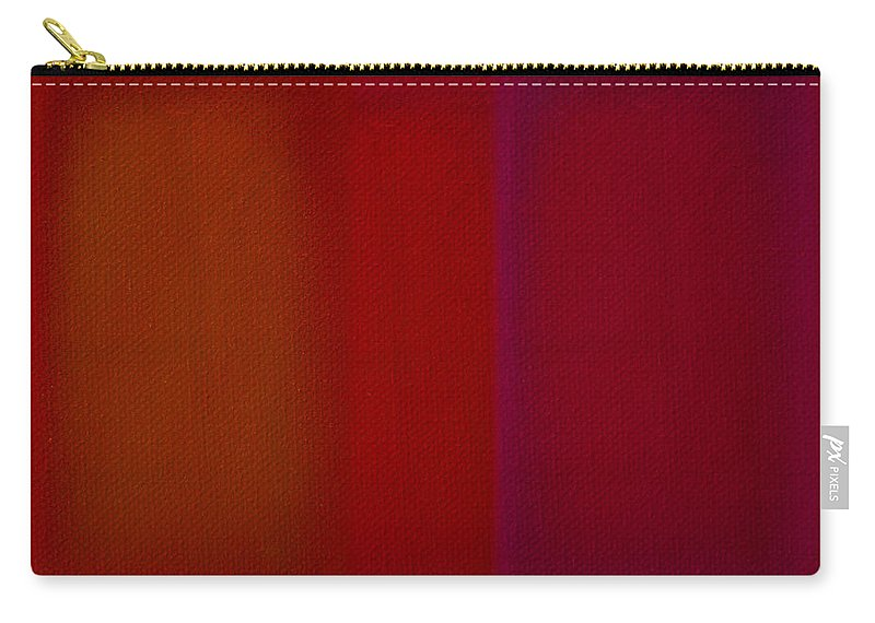 Rothko Carry-all Pouch featuring the painting Red by Charles Stuart