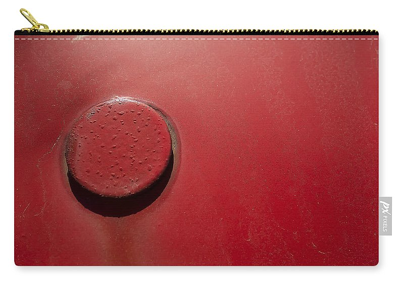 Russell Orchards Carry-all Pouch featuring the photograph Red by David Stone