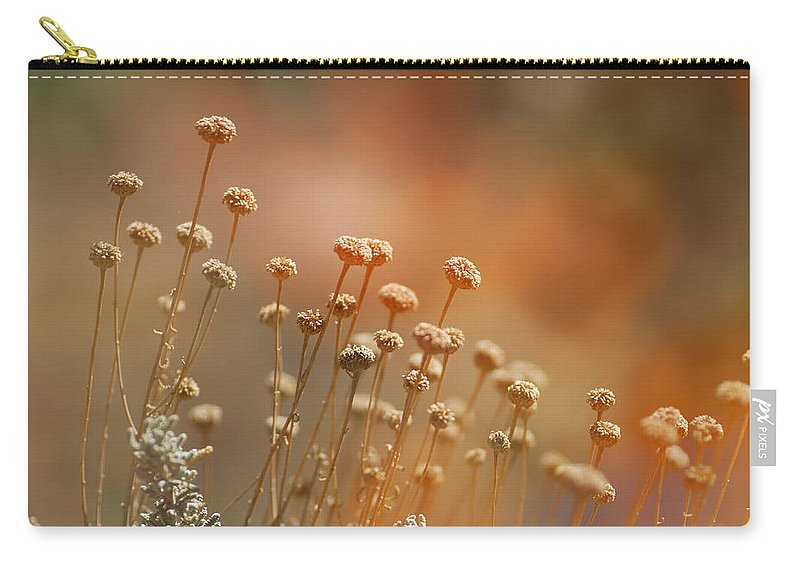 Flora Carry-all Pouch featuring the photograph Red Dream by Guido Montanes Castillo