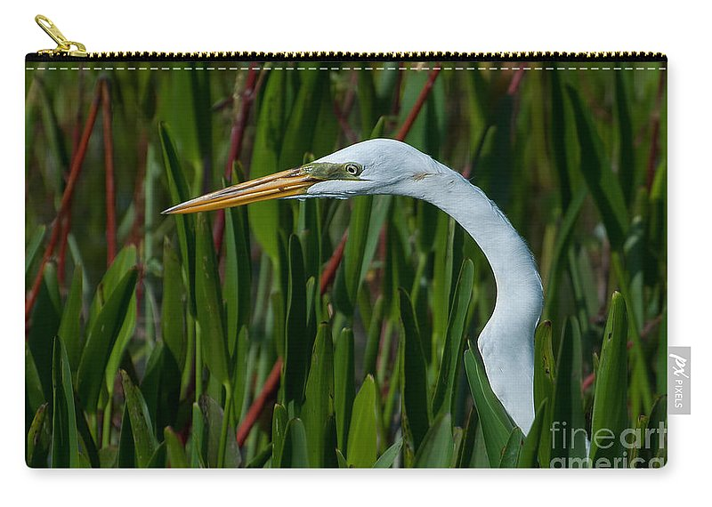 Great Carry-all Pouch featuring the photograph Red Green And White by Photos By Cassandra