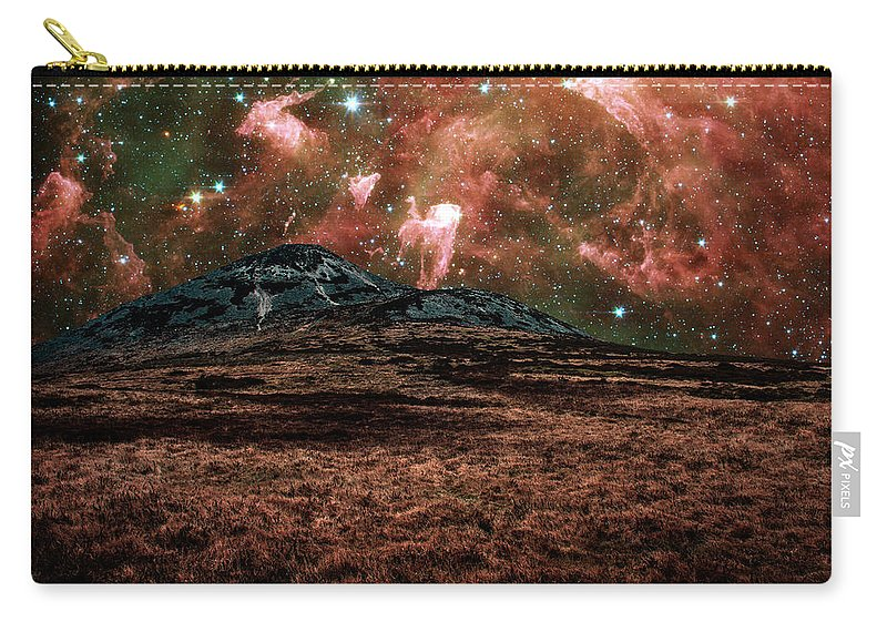 Carina Nebula Carry-all Pouch featuring the photograph Red Planet by Semmick Photo