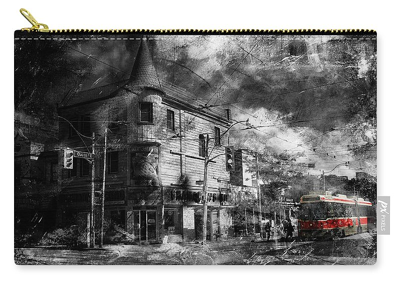 Ttc Carry-all Pouch featuring the photograph Red Rocket 11d by Andrew Fare