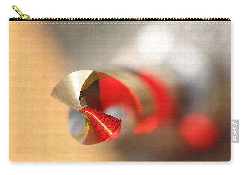 Chuck Carry-all Pouch featuring the photograph Red Three Quarter by David Andersen